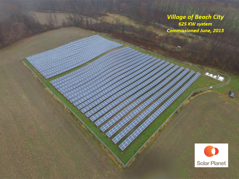 Village of Beach City - 625 KW System Commissioned Jun, 2013